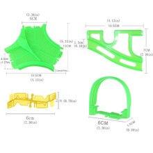 Magia Rolo de Pista De Corridas De Puzzle Brinquedo DIY Mini Coaster Track Acessório Do Carro Eletrônico Modelo Ferroviário Pista Montagem de Peças de Brinquedos Do Menino
