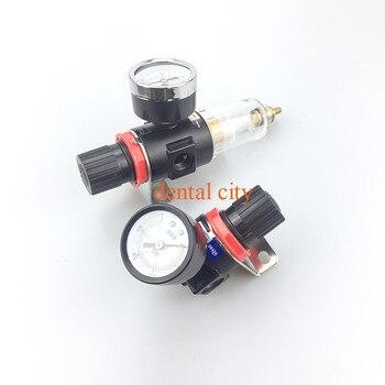 Nieuwe Tandartsstoel Unit Overdrukventiel Manometer Filter Demping Meter