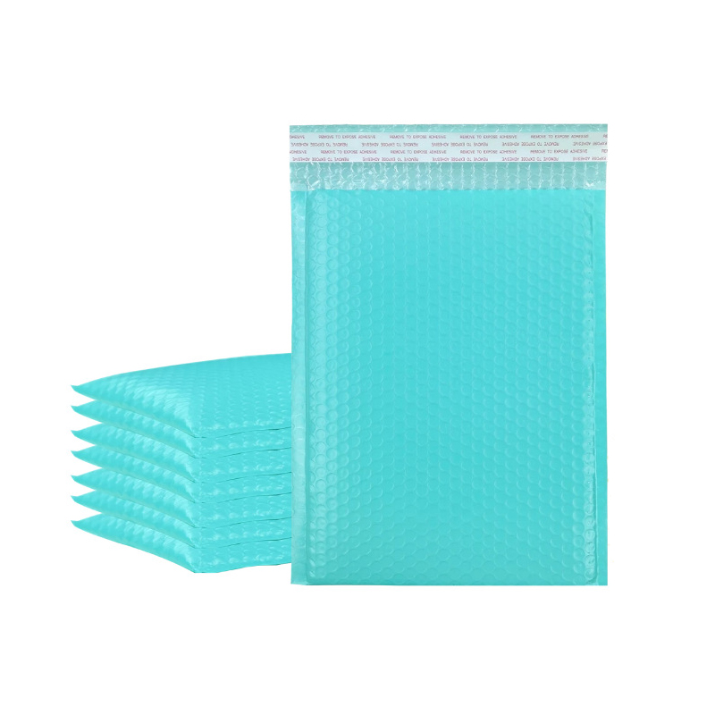 10Pcs Bubble Mailer Blue Plastic Bubble Envelope Self Sealing Shipping Bags Padded Packaging Bags Logistics Express Pouches