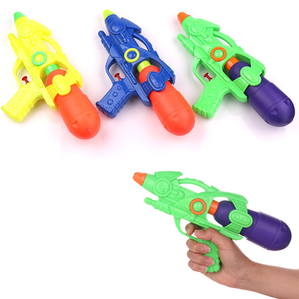 Water Gun For Kids Large Capacity Squirt Plastic Gun Long Shooting Distance Piece Squirt Gun Soake Long Shooting Distance Toy