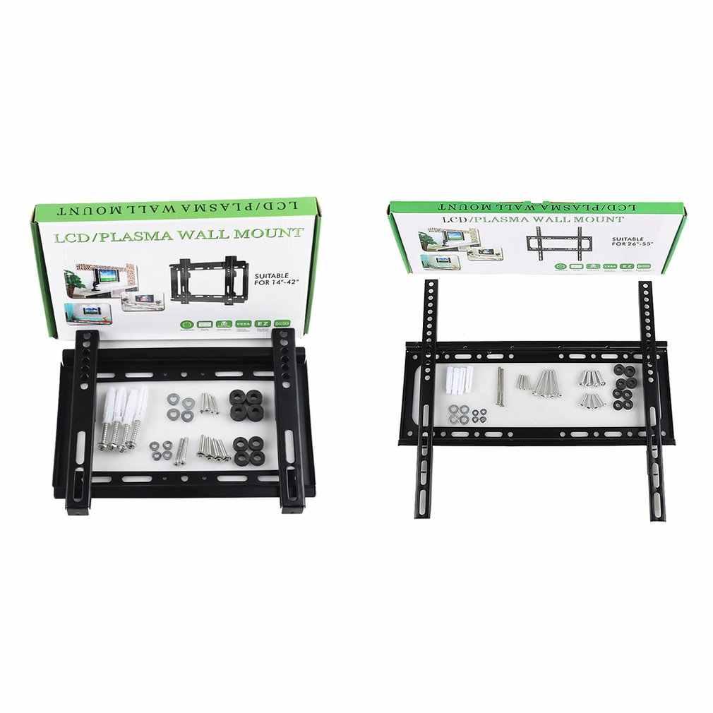 العالمي 32-70 بوصة تلفاز LCD الرف 26-55 بوصة 1.2 سميكة GD02 14-42 بوصة GD01 الحائط تلفاز LCD الرف عرض موقف