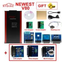 V80 IPROG Porgrammer IR MB адаптеры IPROG CAN-BUS адаптер IPROG Kline адаптер по лучшей цене