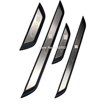 Door Sill Trim For Mazda CX3 CX 3 2017 2018 2019 2020 Car Styling Protection Stainless Steel Guard Protector Car Sticker