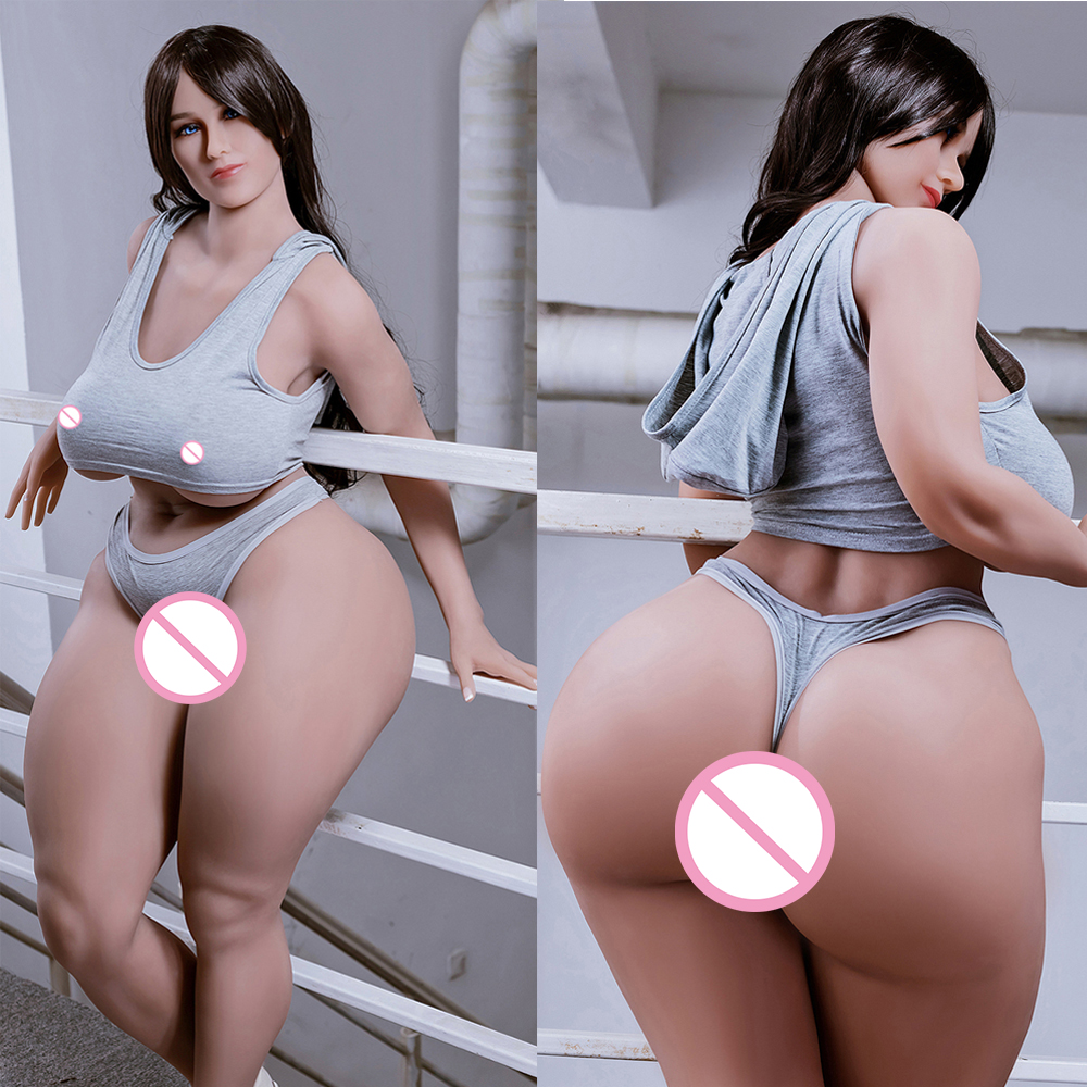 157cm Plump Sexy Large Tpe Fat Ass Sex Doll Full Body Real Sex Doll For Man Silicone Sex Love Doll Realistic Ultra Big Butt