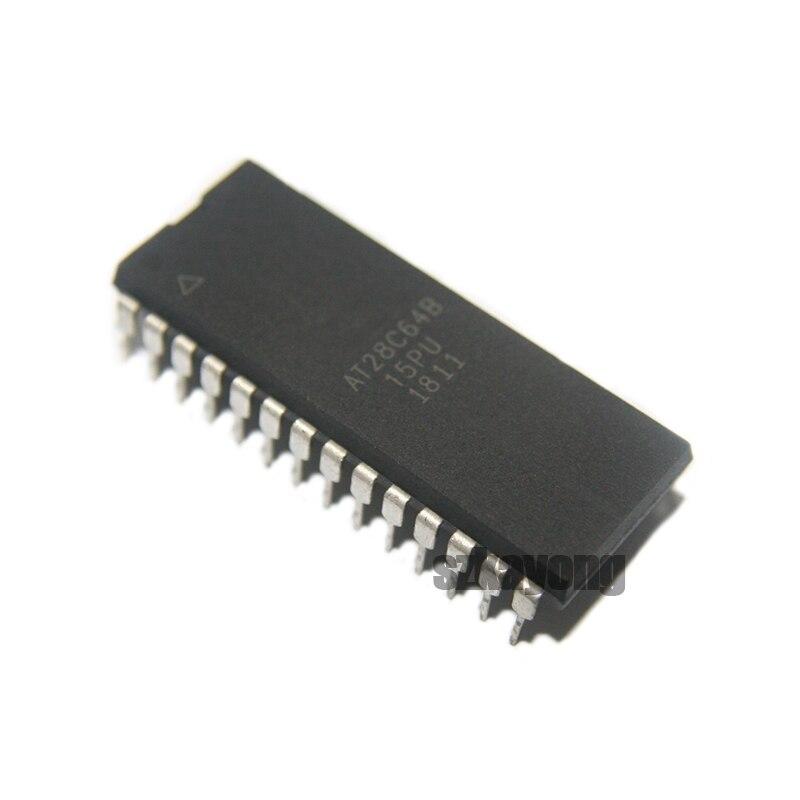 10pcs/lot AT28C64B AT28C64 28C64 AT28C64B-15PU AT28C64B-15PC DIP-28 In Stock