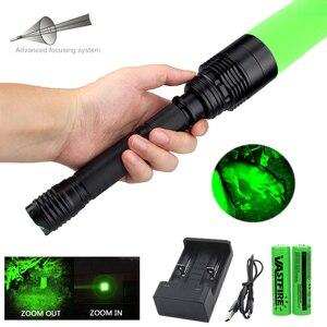 Image 1 - 10000 루멘 T6 LED 슈퍼 밝은 손전등 군사 전술 airsoft armas 사냥 스카우트 라이트 토치 FlashLamp 랜턴