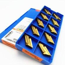 KNUX160405R NC3020 Inserto in Metallo Duro Utensile di Tornitura in Metallo Trasposizione Utensile da Taglio Cnc Strumento di Super Hard Usura Strumenti Knux 160405R