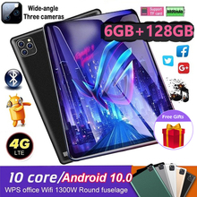 WiFi Tablet PC 10.1 Inch Ten Core 4G Network Android 8.1 Arge 2560×1600 IPS Screen Dual SIM Dual Camera Rear 13.0 MP IPS