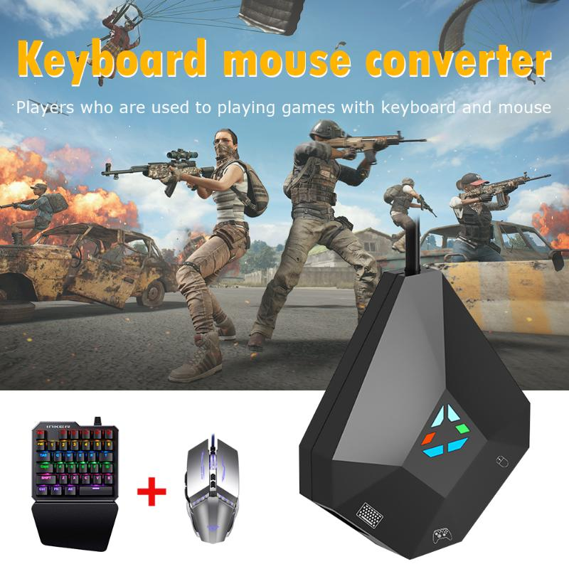 Controller Keyboard Mouse Converter Elaborate Manufacture Prolonged Durable Dock For NS Switch PS4/PS3/XBOX ONE/360/PC