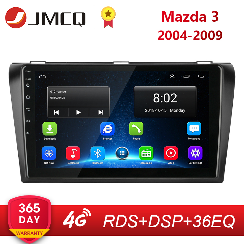 Android 8.1 2 din Car <font><b>Radio</b></font> Multimedia Player For <font><b>Mazda</b></font> <font><b>3</b></font> 2004-<font><b>2009</b></font> maxx axela RDS DSP Navigation GPS Head Unit Auto Stereo image