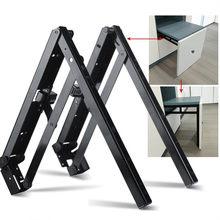 1 par (2 peças) suporte para banco dobrável, suporte para prateleira rv para cadeira, armário, closet para sapatos