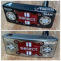 Freeshiping by FedEx. Scotty SELECT Squareback Square Back Skull Cameron Golf Putter Club Putters Clubs Golf Club