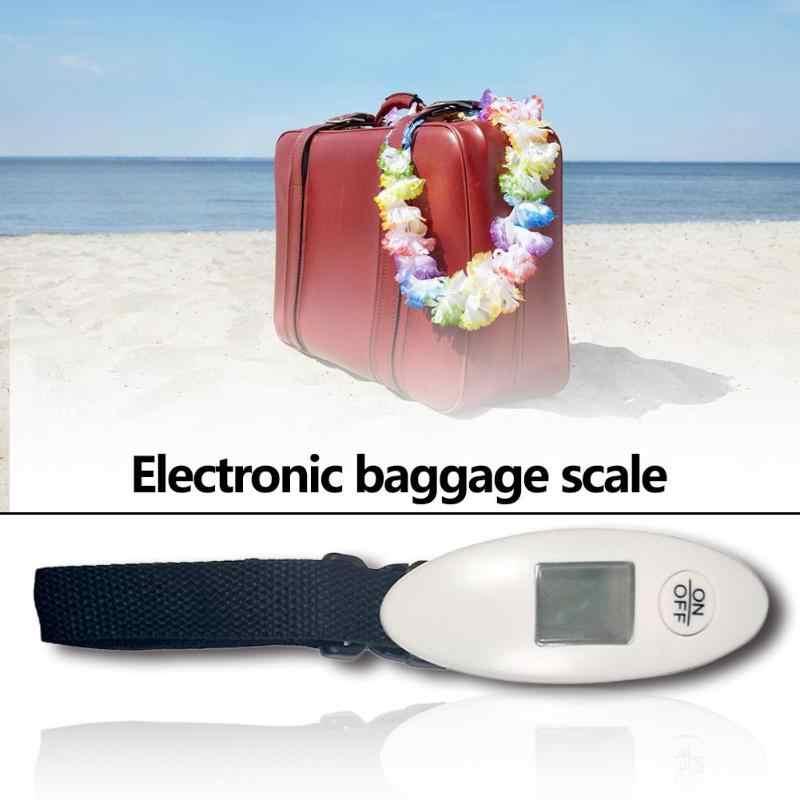المحمولة وزنها الموازين الرقمية LCD الخلفية عرض الأمتعة الإلكترونية مقياس التوصيل السريع أداة قياس الأمتعة