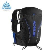 Aonijie c9104 mochilas de hidratação ao ar livre ultraleve correndo coletes 18l à prova dwaterproof água esportes pacotes sacos para acampamento caminhadas maratona
