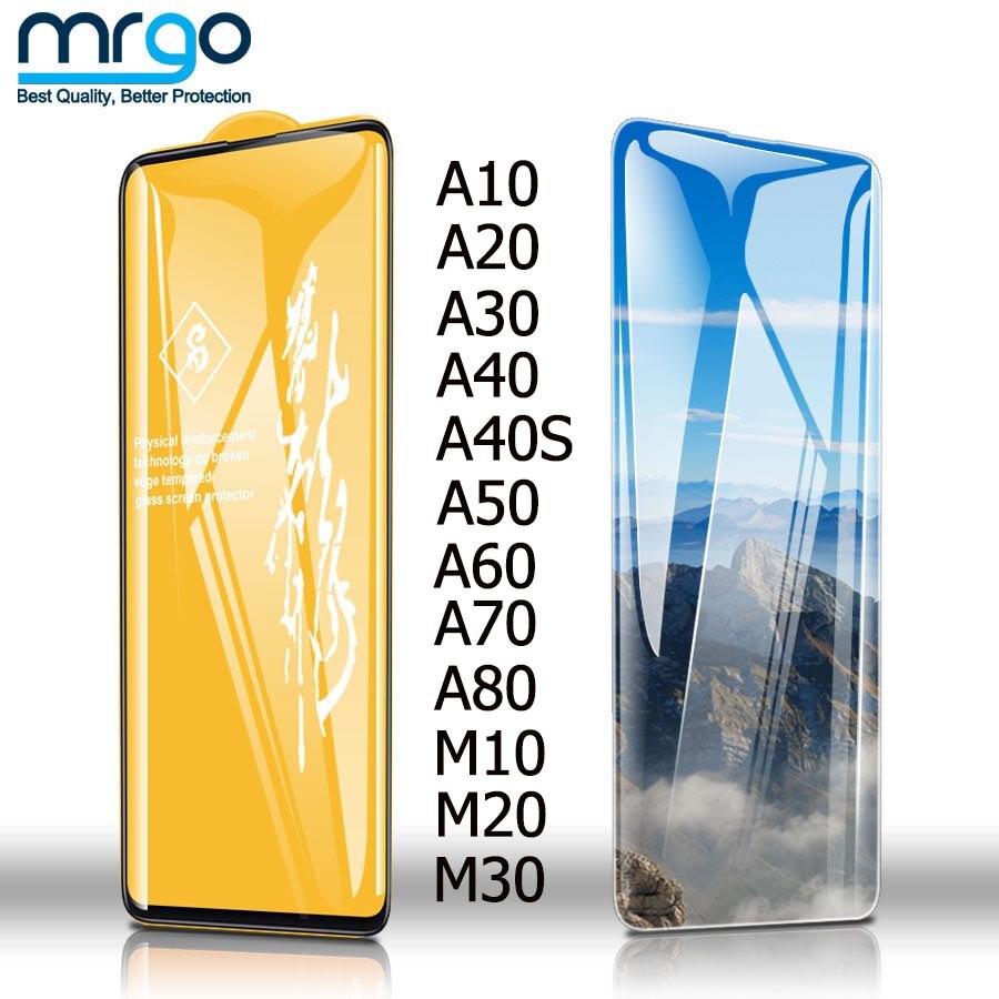 6D Glass For Samsung Galaxy A50 A40 A30 A20 A10 Screen Protector Protective Glass For Samsung A50 A70 A60 A80 M30 M20 M10 Glass