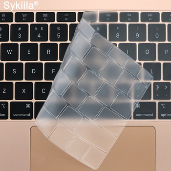 цена на TPU Keyboard Cover for Macbook Air 11 12 13 Pro 13 15 16 17 Retina Thin Touch Transparent Silicone Film Clear EU US A2179 2020