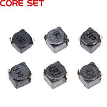Inducteur de puissance cms 2.2uh 437uh 10uh 22uh 33uh 47uh | 10 pièces/lot, inducteur blindé 5*5*3mm