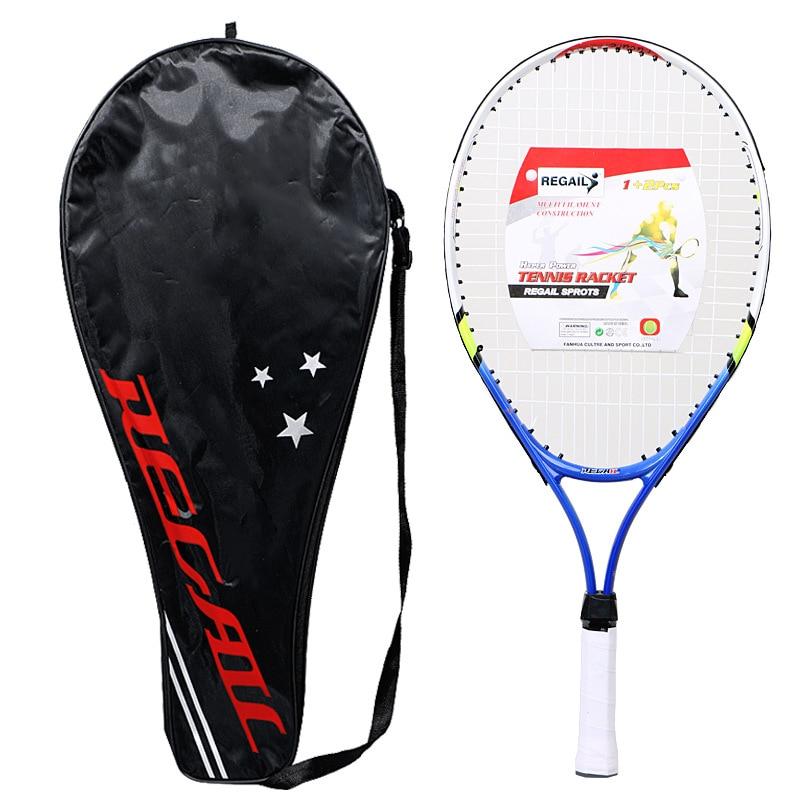 Kids Junior Children Sports Tennis Racket Aluminum Alloy PU Handle Tennis Racket YS-BUY