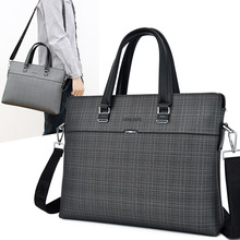 Men's Computer Handbags Business Leather Laptop Crossbody Bags For Macbook Air 14 Men Shoulder Bag Male Pochette Bolso Hombre