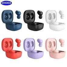 Наушники SHODA Bluetooth 5,0, беспроводные наушники-вкладыши TWS, наушники с шумоподавлением, Bluetooth 5,0, гарнитура для iPhone, Xiaomi, Huawei