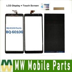 Oryginalny 6.0 Cal do BQ Mobile BQ-6010G Practic BQ-6010G wyświetlacz LCD z ekranem dotykowym oddzielnie z taśmą i narzędziami