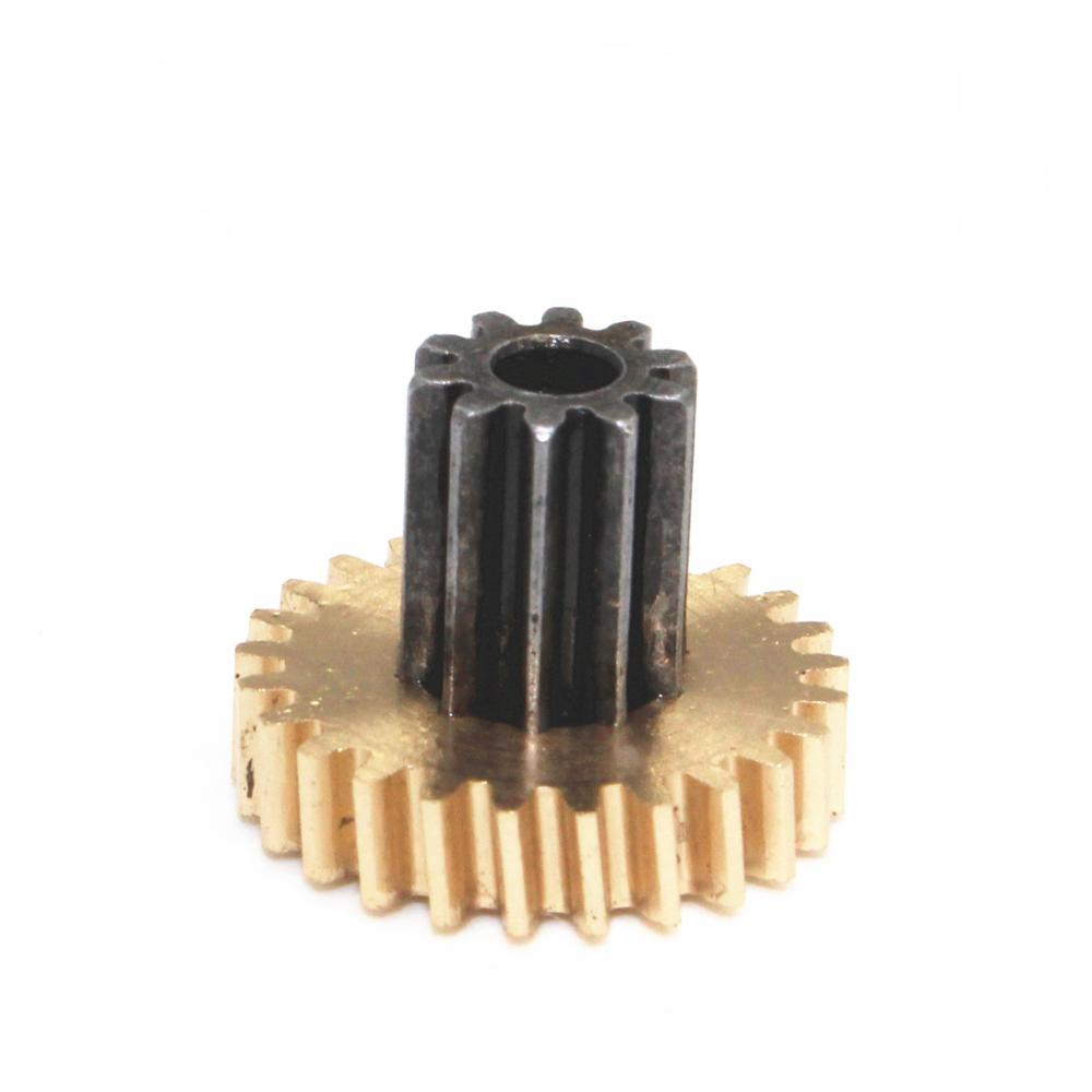 0.5M10T 2mm Bore Hole Width 5mm 10 Tooth Module 0.5 Motor  Metal Spur Gear