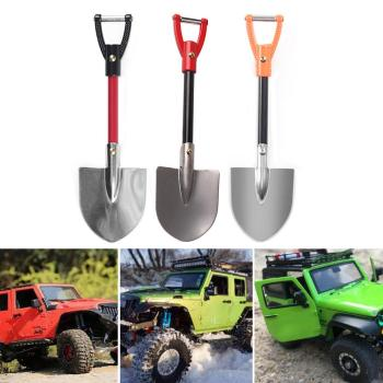 Durable Mini Metal Shovel Wear-resistant RC Car 1:10 Scale Accessories Metal Shovel for 1/10 RC Crawler Axial SCX10 image