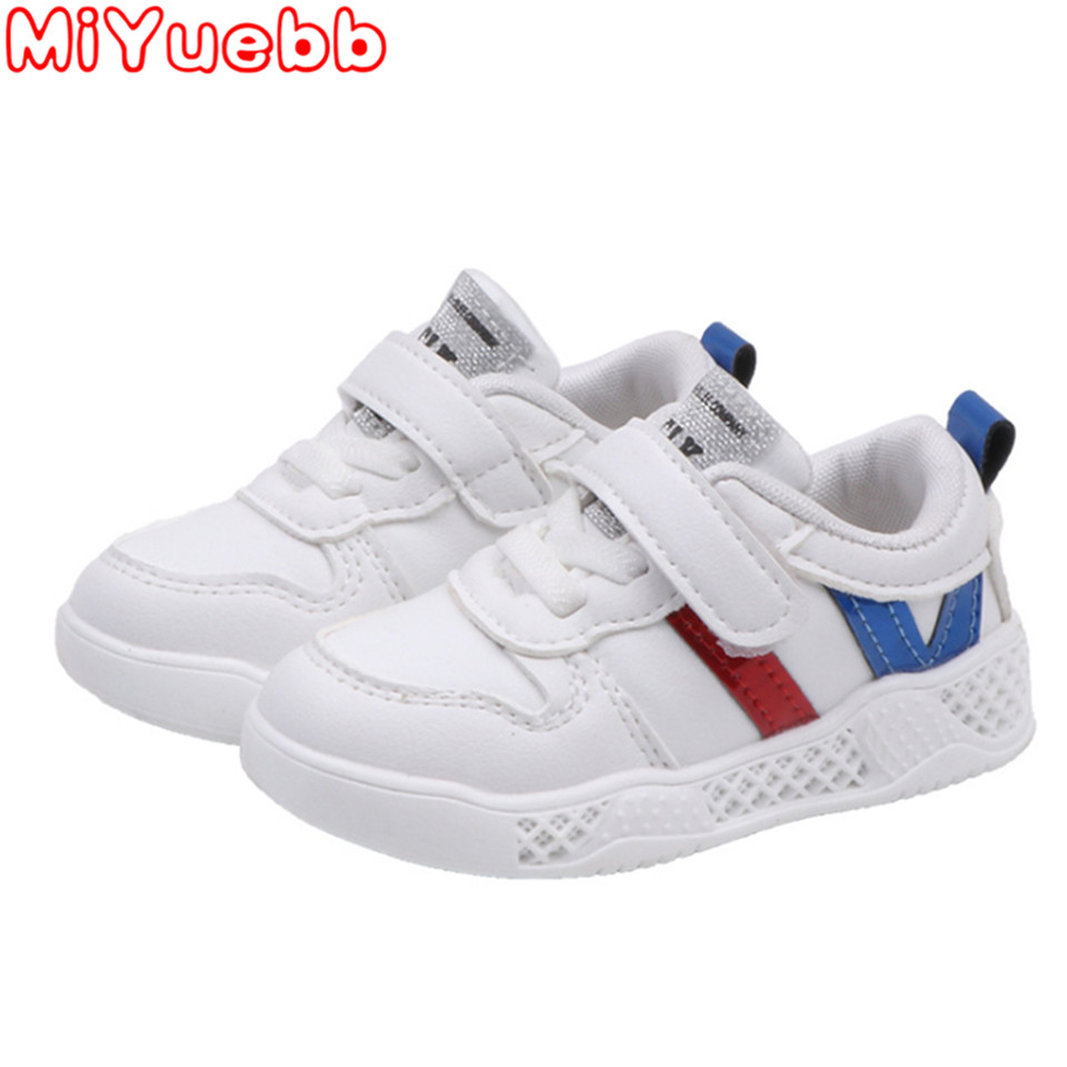 2020 Brand Baby New Children Shoes Boys Girls Sneakers Stripe Sport Running Shoes Baby  Fashion Sneakers Toddler Kids  Sneakers