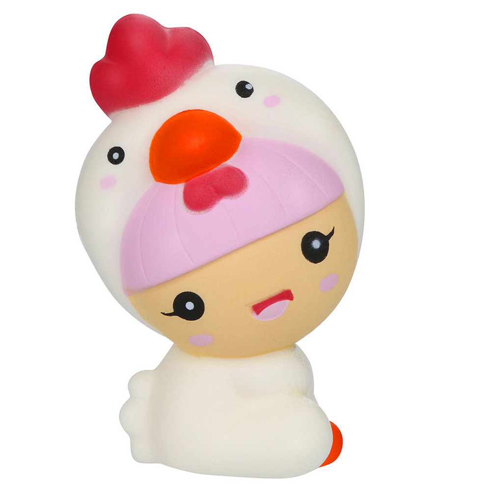 Adorable Kawaii Cartoon Chick Baby Slow Rising Cream Scented Toys Fun Toys For Adults Anti Stress Cute Holiday Gifts #A