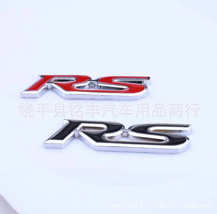 SPORTS car modified car standard Sport version of pure 3D metal Car tail sticker