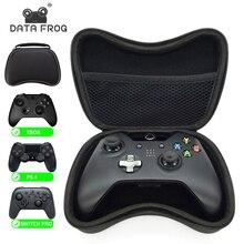 נתונים צפרדע EVA קשה Gamepad ידית לשאת מקרה עבור Xbox אחד 360/PS4 אחסון מגן תיק עבור Nintendo מתג פרו/PS3 Gamepad