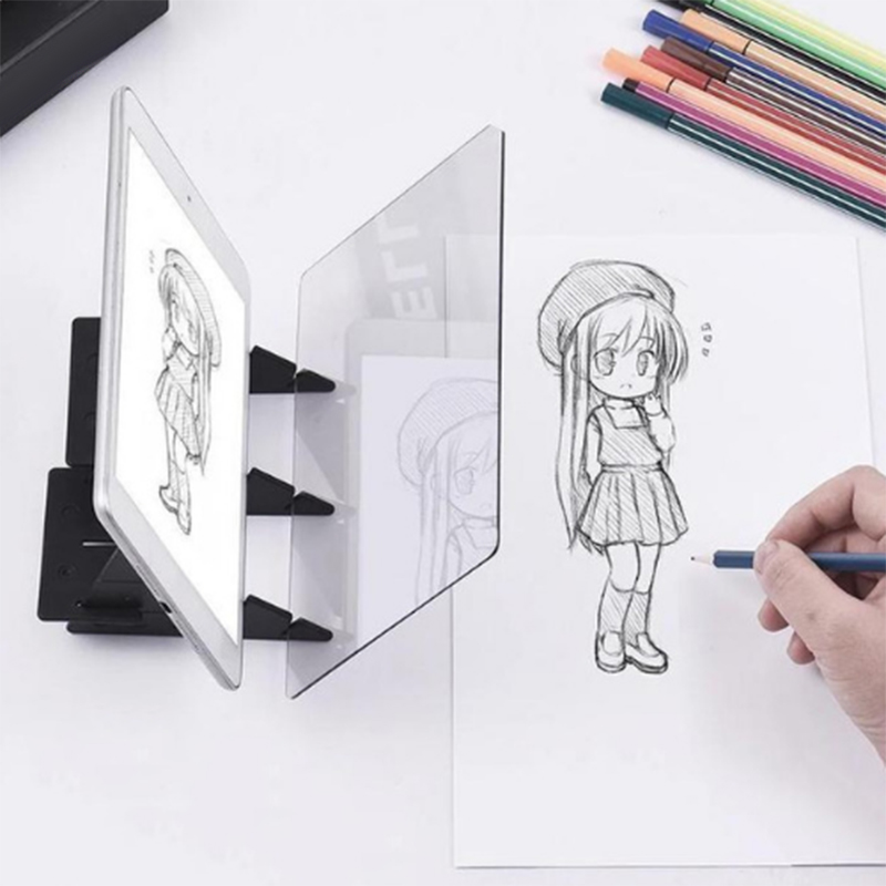 Sketch Tracing Drawing Board Optical Draw Projector Painting Reflection Line