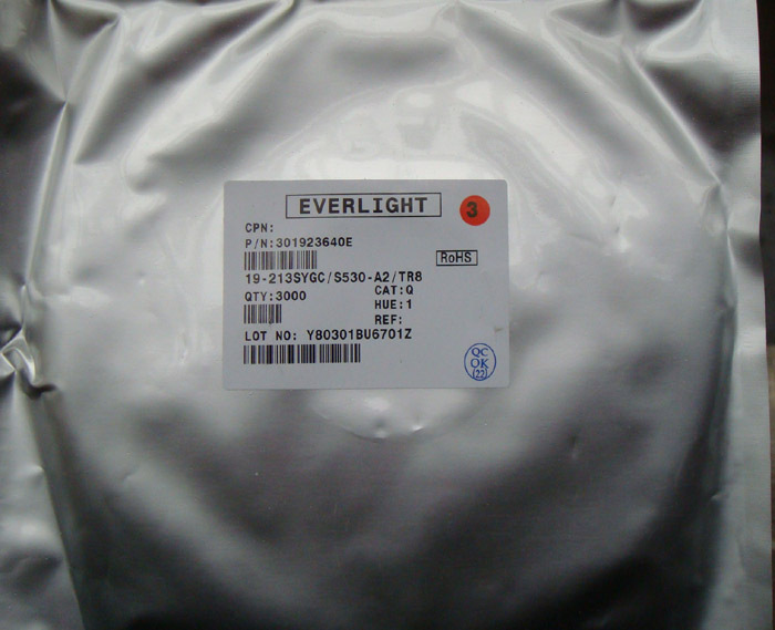 Free Delivery. Patch luminous tube Diode red red 0603 a plate of 3000 only
