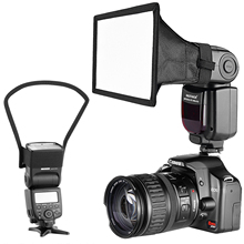 Neewer 카메라 스피드 라이트 플래시 소프트 박스 리플렉터 디퓨저 키트, Canon Nikon 기타 DSLR 카메라 플래시 Neewer TT560 플래시
