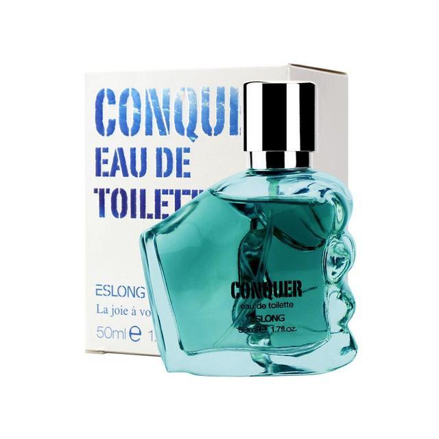 VIBRANT GLAMOUR 50ml Men Charming Long-lasting Perfume Portable Classic Cologne Gentleman Male Flavor Fragrance
