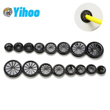 Wire protecter Plastic buckle Desk Wire Hole Cover Dust plug computer Table Cable Outlet Port seal rings Wire rack organizer 2pcs high quality abs computer desk table grommet cable port wire hole cover 50mm 53mm 60mm wire storage rack furniture hardware