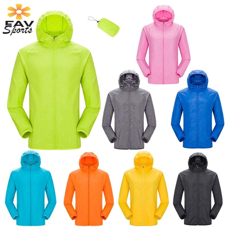 Veste Sports-Jacket Cycling Raincoat Hooded Women Windproof Outdoor MTB