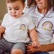 Shirt Mom Baby Mama Match Mother's-Day-Gift Fashion Children Summer And Tee Tops