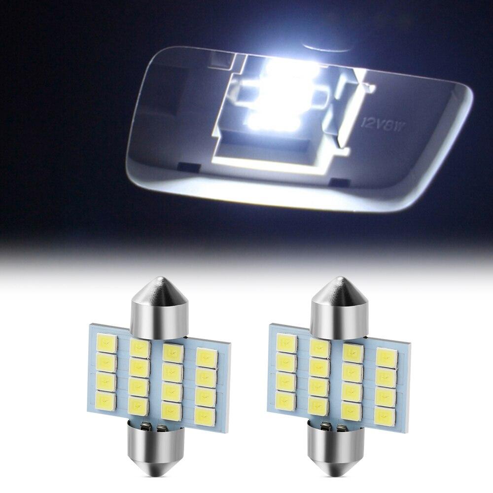 2x C5W C10W LED ampoule de lecture intérieure de voiture pour Alfa Romeo 159 147 156 164 166 stelvio Giulietta MiTo Giulia GT