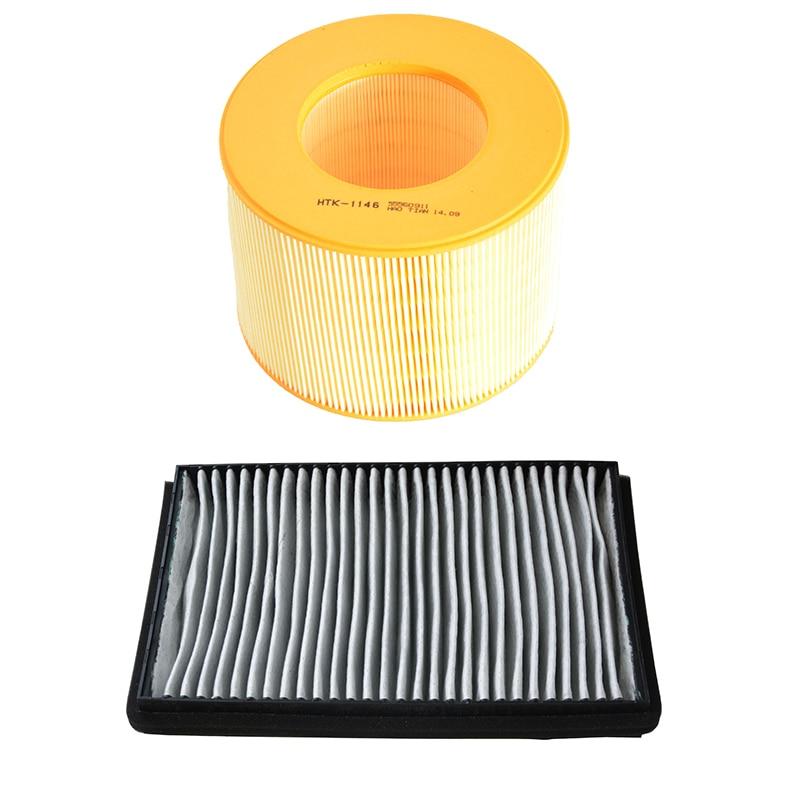 Car Engine Air Filter Cabin Air Filter For Baic Senova D70 1.8t 2.0t D320 2.3t 2012- Saab 9-5 2.3t 1997-2011 55560911 A00008912