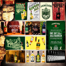 Scotch Vintage Metal Tin Signs Irish Whiskey Poster Pub Bar Casino Club Decoration Plate Store Ad Plates Wall Art Decor MN116 цена 2017