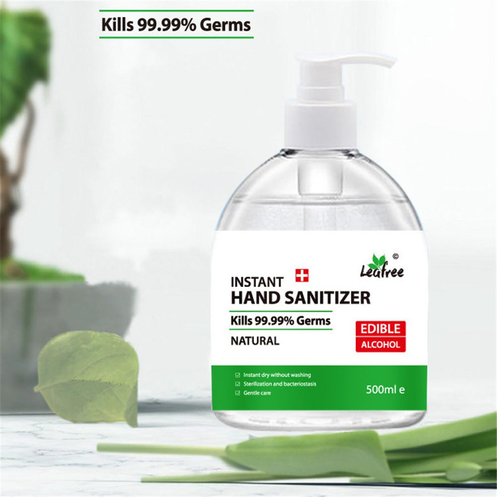 500ml Disinfection Portable Hand Cleaner Sanitizer Hand Soaps Disposable Rinse Free Hand Sanitizer Gel Hand Wash Gel