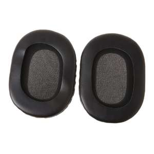 1 Pair Headphone Earpads Soft Earbuds Cushion Flexible Ear Pads Replacement for Sony MDR-7506 V6 AXYF
