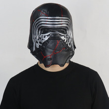 Star Wars Kylo Ren Mask Cosplay The Force Awakens Latex Helmet Masks Halloween Party Props saintgi saintgi star wars the force awakens kylo ren action figure pvc 16cm model toys kids gifts collection free shipping