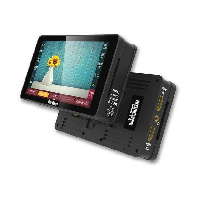 Portkeys – moniteur de caméra HD avec écran tactile de 5.2 pouces, HLG HDR 4K pour Z CAM E2 GH5 Sony Canon BMPCC