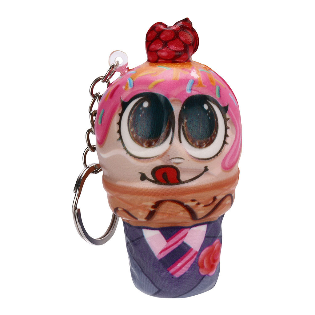 Ice Cream Doll Pendant Charm Slow Rising Collection Toys Trinket Stress Relieve Gifts Squeeze Food Decorations #A