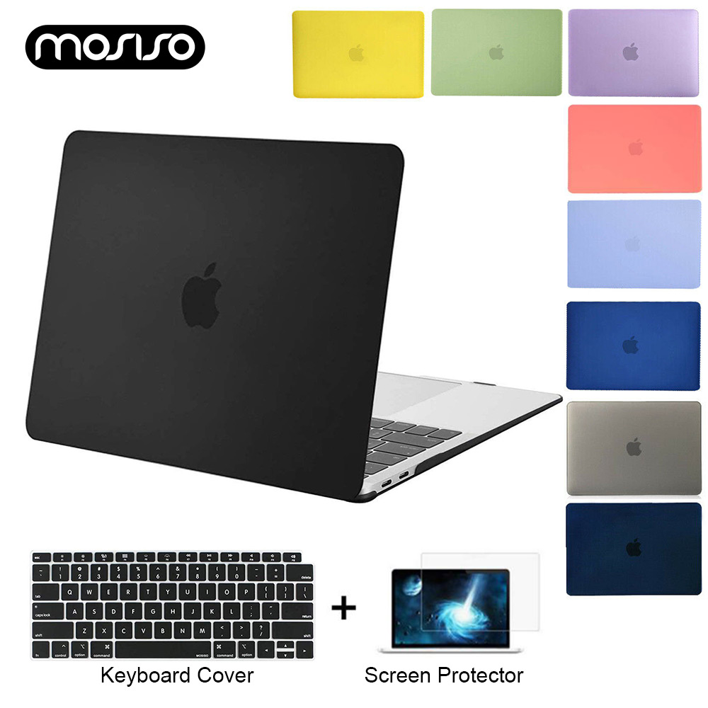 Mosiso Laptop Hard Case 2020 <font><b>Pro</b></font> <font><b>15</b></font> Air 13 A1932 A2179 A2289 touch ID for <font><b>Apple</b></font> <font><b>Macbook</b></font> Notebook Carry Cases <font><b>Cover</b></font> A1466/A1369 image