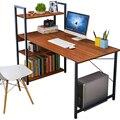 Компьютерный стол  домашний простой стол  книжная полка  комбинация  простой современный студенческий угловой стол для письма