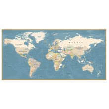 Modern minimalist world map posters and canvas paintings, modern Nordic wall art prints, decorate home living room and office