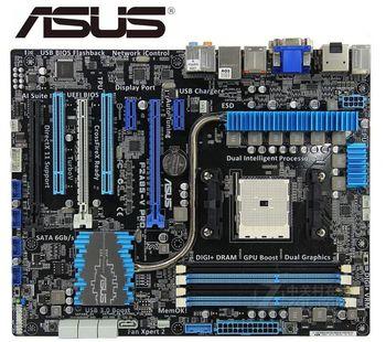 original Asus F2A85-V PRO used Desktop Motherboard A85X Socket FM2 DDR3 64G SATA3 USB3.0 ATX